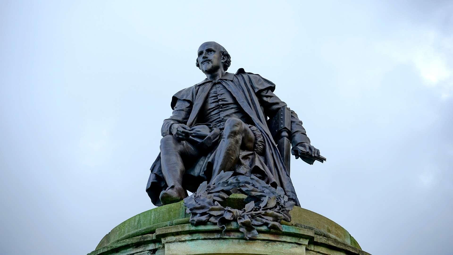 Estatua de Shakespeare