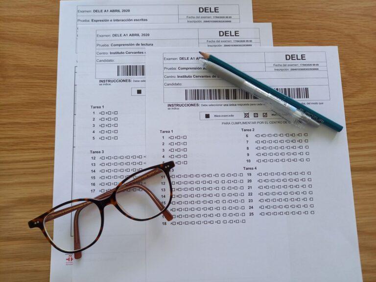 Tipps für die Vorbereitung auf die DELE-Prüfung. Leitfaden mit Links zu offiziellen Prüfungsunterlagen zum Downloaden.